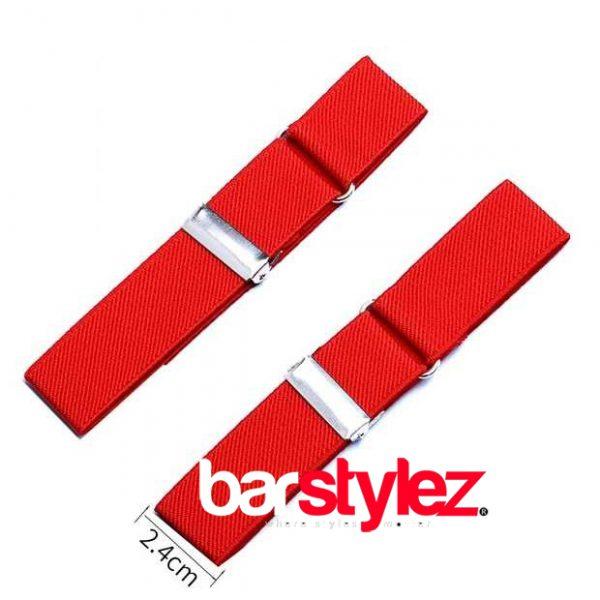 Sleeve Garter Red