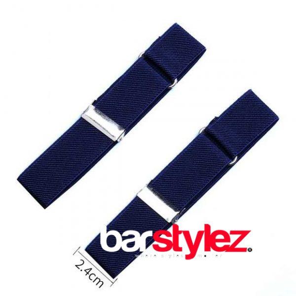 Sleeve Garter Blue