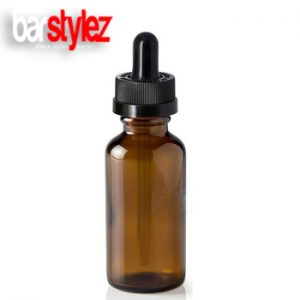 Dripper Bottle Amber Glass - 30ml