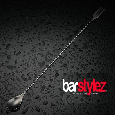 Trident Barspoon 40cm - Gunmetal Black