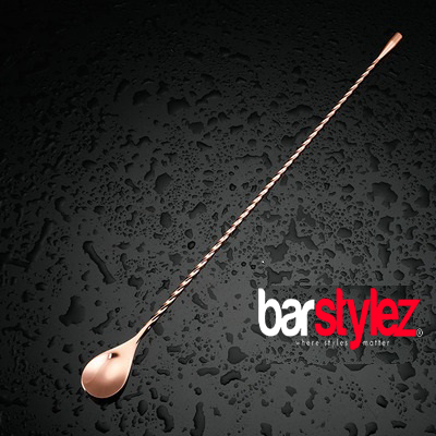 Teardrop Barspoon 40cm - Rose Gold