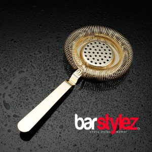 Classic No Prong Strainer - Gold Plated