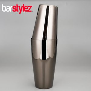 Tin On Tin Unweighted Shaker - Gunmetal Black
