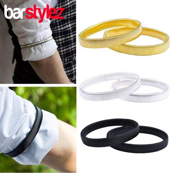 Sleeve Garter Black/Silver/Gold