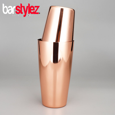 Tin On Tin Unweighted Shaker - Rose Gold