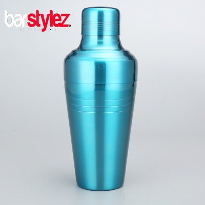 3 Piece Baron Shaker 410ml - Baby Blue