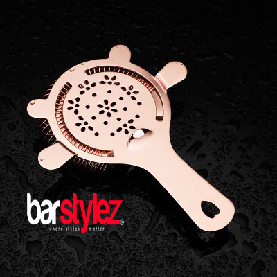 4 Ear Hawthorne Strainer - Rose Gold