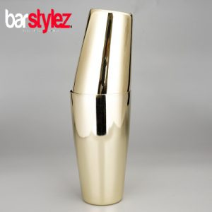 Tin On Tin Unweighted Shaker - Gold Plated